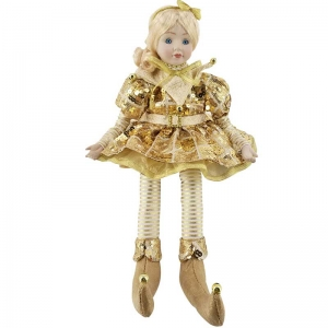 Arlequín con Musica Doll